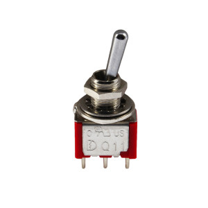 PHILMORE SPDT (On)-Off-(On) Mini Toggle Switch