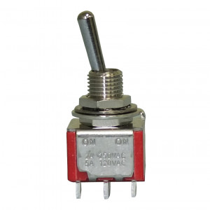 PHILMORE DPDT On-On Mini Toggle Switch