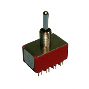 Philmore 4PDT On-Off-On Mini Toggle Switch