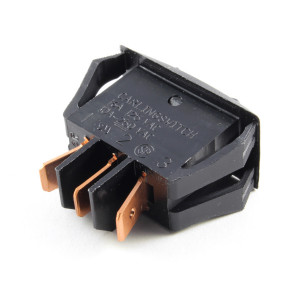 PHILMORE SPST On-Off-On Snap-in Rocker Switch