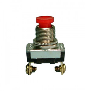PHILMORE SPST (Off)-On Pushbutton Switch