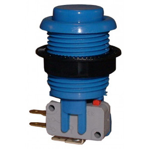 PHILMORE Large Blue Momentary Pushbutton Switch