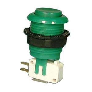 PHILMORE Large Green Momentary Pushbutton Switch