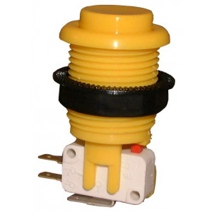 PHILMORE Large Yellow Momentary Pushbutton Switch