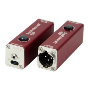 """SWITCHCRAFT 1/8"""" Stereo Jack to Balanced Mono 2-pin XLR with Volume Control"""