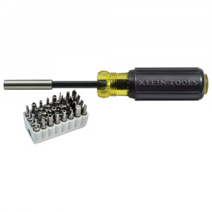 KLEIN Magnetic Screwdriver with Tamperproof Bits