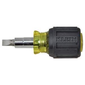 KLEIN Stubby Multi-Bit Screwdriver/Nut Driver