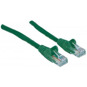 INTELLINET CAT6 Patch Cable 1ft Green
