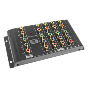 CALRAD 1x4 Component Video Distribution Amplifier