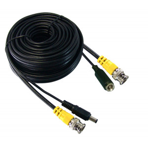 PHILMORE CCTV Power/Video Cable 25ft In-wall Rated UL/CL2