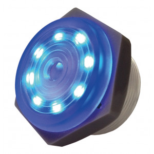 PHILMORE Blue Lighted Piezo Sounder - Continuous Tone