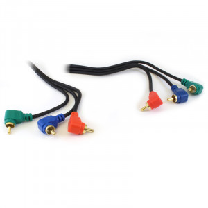 PHILMORE 6ft Component Video RGB Cable Right Angle