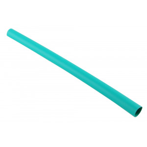 "NTE Thin Wall Heat Shrink 1/2"" Green 4ft"