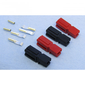 PHILMORE DC-S Power Connectors 2 Red / 2 Black with 4 15A Contacts 16-20awg