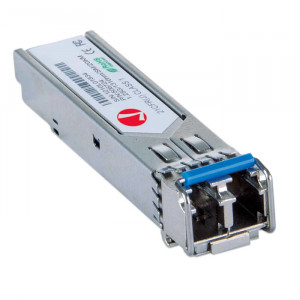 INTELLINET Gigabit Fiber SFP Module LC Single-Mode 12.4 miles (20 km)