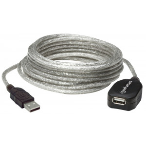 MANHATTAN USB USB 2.0 Active Extension Cable 16ft