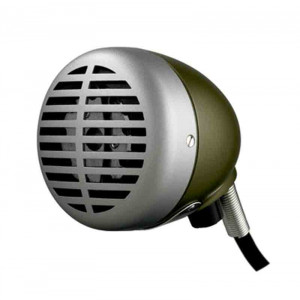 "SHURE ""Green Bullet"" Harmonica Microphone"