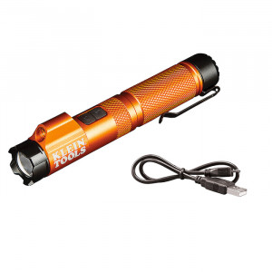 KLEIN Rechargeable Focus Flashlight with Laser