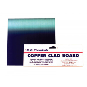 MG CHEMICALS Positive Presensitized Copper Board