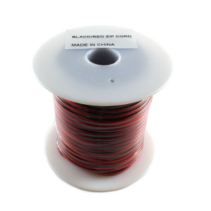 PHILMORE 22awg 2C Red/Black Stranded Hook-up Wire 100ft