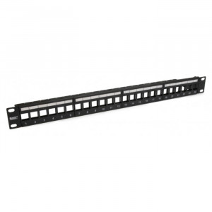PLATINUM Unloaded Patch Panel, 24 Port, Unshielded