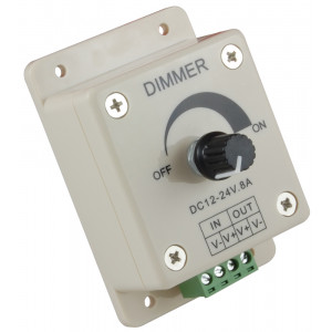 NTE Knob Operated 12v LED Dimmer