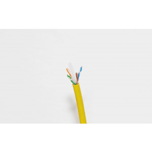 Remee CAT6 Riser Cable 500ft Pull-out Box Yellow