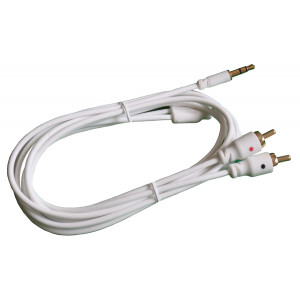"PHILMORE 1/8"" 3C Male to 2 RCA Male Y Cable 6ft"