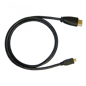 PHILMORE HDMI Male Type A to HDMI Micro Male Type D 1 Meter (3.28ft)