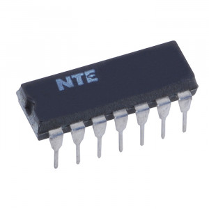 NTE TTL Quad 2-Input Exclusive-OR Gate