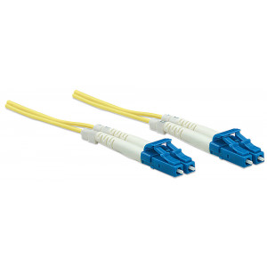 INTELLINET Fiber Optic Patch Cable 2m LC to LC