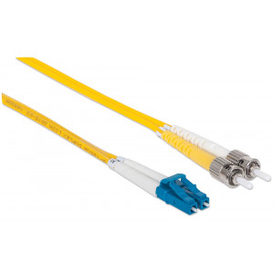 INTELLINET Fiber Optic Patch Cable 2m LC to ST