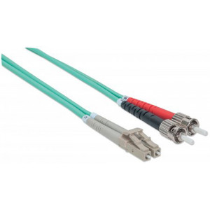 INTELLINET Fiber Optic Patch Cable 5m ST to LC