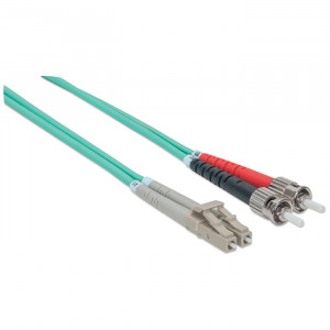 INTELLINET Fiber Optic Patch Cable 10m ST to LC