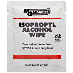 MG CHEMICALS Isopropyl Alcohol Wipes 50pk