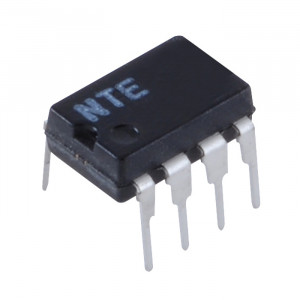 NTE Dual, Low-Noise JFET-Input Operational Amplifier