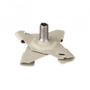 PANAVISE CCTV T-Bar Ceiling Clip Base - White