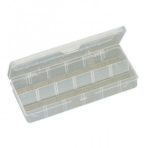 "ECLIPSE Plastic Box with Dividers 10"" X 4.7"""