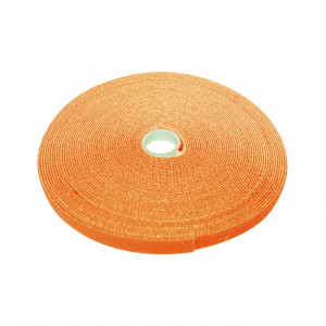"ECLIPSE 3/4"" Wide Hook and Loop Tape Orange (50 ft)"