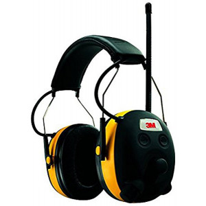 3M WorkTunes Wireless Hearing Protector with Radio