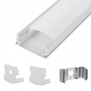 CALRAD Slim LED Rectangle Aluminum Housing Surface Mount 4ft Long