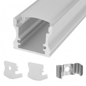 CALRAD LED Rectangle Aluminum Housing Surface Mount 4ft Long