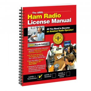 ARRL Ham Radio License Manual 4th Edition Spiral Bound