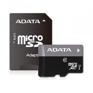 ADATA 32GB CL10 Micro SD Card With Adapter