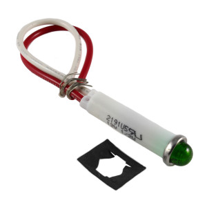 LINROSE Green Indicator Light LED 12V