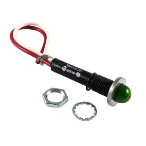 LINROSE Green Indicator Light LED 24V