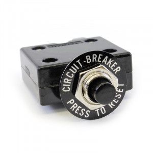 PHILMORE Push Button Thermal Circuit Breaker 3A