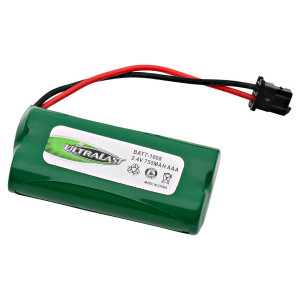 DANTONA Cordless Phone Battery 2.4v 750mAh Ni-mh