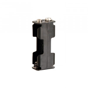VELLEMAN 2 AA Battery Holder with Snap Terminals