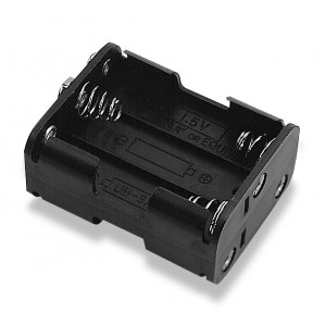 PHILMORE Battery Holder for 6 'AA' Batteries